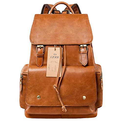 Leather Backpacks | Large selection & Discount prices on Leather ...