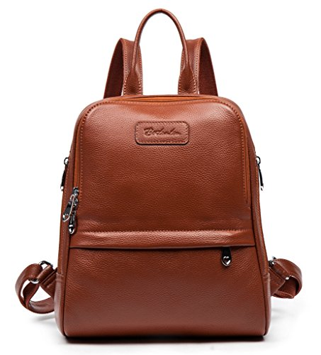 Bostanten Women's Cow Leather Casual Backpack Bag Shoulder Bag ...